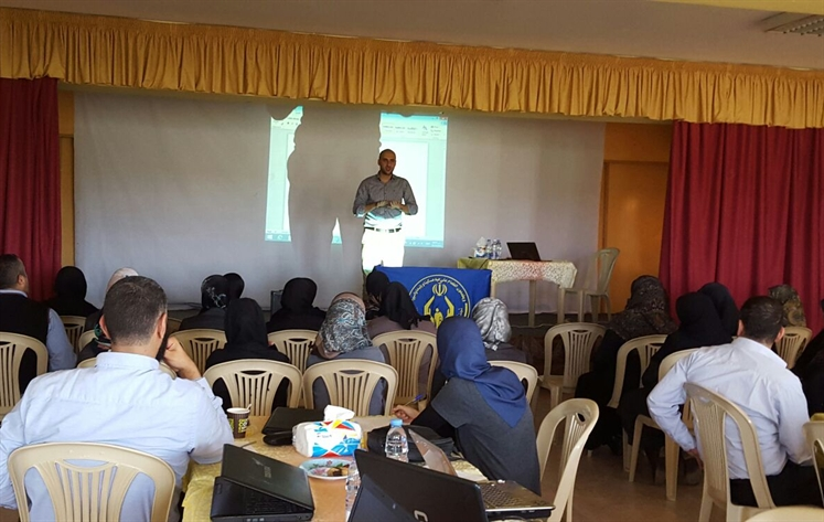 eSchool portal Presentation at Al-Imdad Schools in north lebanon