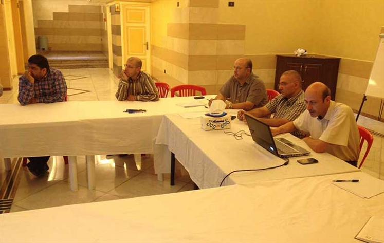 Training round for Al-Moustafa schools in Lebanon